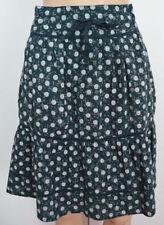 White Stuff Knee Length Cotton Flippy, Full Skirts for Women