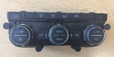 VW GOLF MK7 VII MULTIMEDIA AC HEATER CLIMATE CONTROL PANEL 5G0907044AF #box25