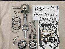 Super Master ENGINE REBUILD KIT FOR K321 14hp KOHLER w/Valves, Bearings, springs