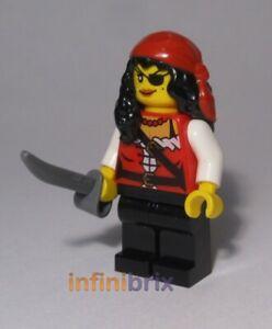 Lego Pirate Princess Minifigure from set 70411 Pirates Female NEW pi165