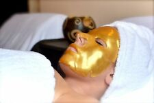 24K Gold Bio Collagen Face Mask Wrinkle Tired Crow Feet Puffy Eye Treatment x 5