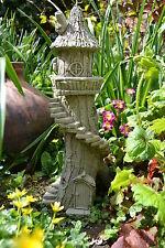 Fairy Garden-Garden Ornament-Fairy House-Pixie House-Stone-Tip Toe Tower