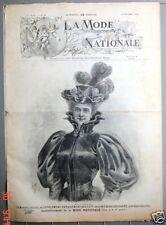 La mode national Novembre 1896  Corsage - Veste