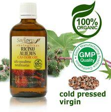 Pharm Grade Virgin Castor Oil 100 ml / 3.6 oz | 100% Pure Organic