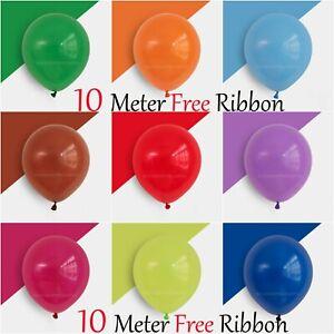 100 X Latex PEARL BALOON BALLONS helium BALLOONS Quality Party Birthday Wedding