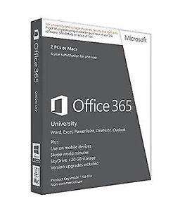 Microsoft Office 365 University for PC & Mac R4T00009