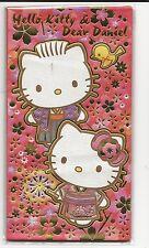Sanrio Hello Kitty Dear Daniel Envelopes For Gift Money Gold Embossed
