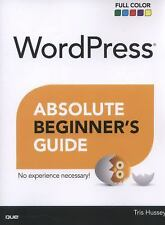 WordPress Absolute Beginner's Guide, Hussey, Tris, Good Condition, Book