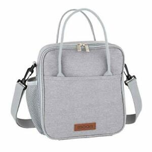 Moon Insulated Lunch Bag with Bottle Holder - Cool Bags for Women, Men, Adults