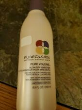 PUREOLOGY PURE VOLUME BLOW DRY AMPLIFIER FINE COLOR TREATED HAIR 8.5oz 50% FULL