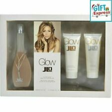 Glow by Jennifer Lopez 3pc Gift Set 3.4 oz Perfume+3.4Body Lotion +3.4Shower gel