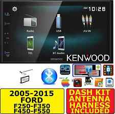 05-15 FORD F250/350/450/550 JVC-KENWOOD TOUCHSCREEN USB AUX BLUETOOTH CAR Stereo