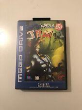 Earthworm Jim (Sega Mega Drive, Complete) VGC