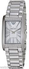 Emporio Armani Women's AR3169 Sportivo Stainless Steel Diamond Watch