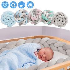Baby Nestchen Bettschlange Schlafen Nestchen 3/4M Kopf Matratze Knotenkissen
