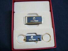 Gary Player Designer Key Ring & Money Clip Set New! in Box