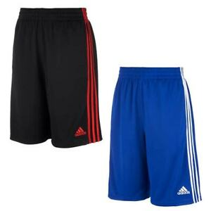 adidas Boys' Youth Shorts 2 Pack - BLACK, BLUE (Select Size: S-XL)