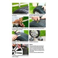 #QZO Car Bike Auto tubeless Tire Repair Kit Tyre Puncture Plug Repair Tool