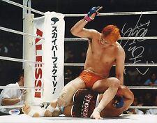 Kazushi Sakuraba Signed 11x14 Photo PSA/DNA COA UFC Pride FC Picture Autograph 3