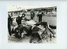 Jacques Laffite Ligier JS17  British Grand Prix 1981 Signed Press Photograph 1