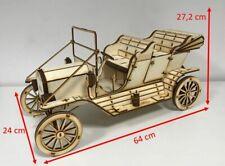 Holzmodell Ford F1 `48 Pick Up Standmodell 3D Modell aus Holz als Bausatz