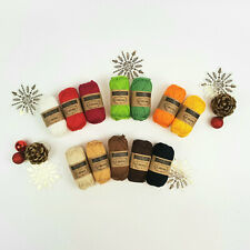 Scheepjes Christmas Yarn Set -Scheepjes Catona 100% Cotton Yarn crochet knitting