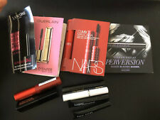 Mascara Lot of 10 Sample NARS MAC BOBBI HOURGLASS GUERLAIN LANCOME