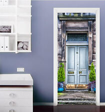 3D Street Step 7 Door Wall Mural Photo Wall Sticker Decal Wall AJ WALLPAPER AU