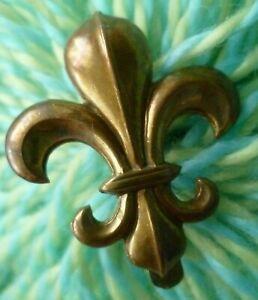 Manchester Regiment COLLAR Badge All BRASS Slider ANTIQUE Original