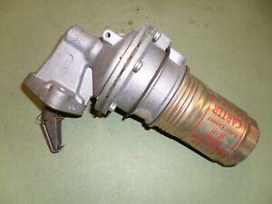 New Carter X body fuel pump 3832S Mechanical