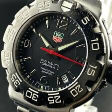 VINTAGE TAG HEUER FORMULA 1 MENS WATCH - WAC1110-0 BLACK DIAL