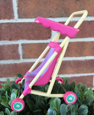 Vintage 1984 Cabbage Patch Kids Pink Purple Stroller For CPK Miniature Figure
