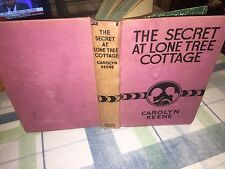 The Secret At Lone Tree Cottage By Carolyn Keene 1930's HB Dana Girls Mysteries