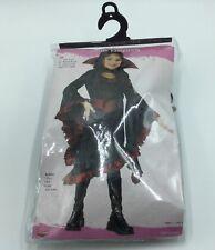 Fun World, Ruffle Vampiress, Vampire Child Girls Halloween Costume Size M