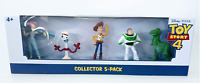 New Disney-Pixar Toy Story 4 Mini Figurines Collector 5 Pack