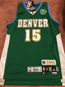 """Carmelo Anthony Special Edition """"NBA Green"""" Adidas Jersey 2009-10 NBA Game Worn"""