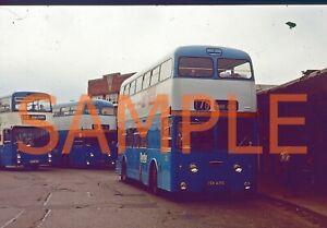 35mm slide Derby Daimler Fleetline / Roe XCH 431 G - 231