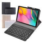 Bluetooth Keyboard Leather Case for Samsung Galaxy Tab A 10.1 2019 T510,T515