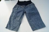 H&M MAMA Umstandsjeans blau kurze Jeans Shorts Gr.S