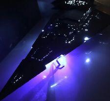 Large Revell 1/2700 Star Destroyer model with LED lighting Professional Built