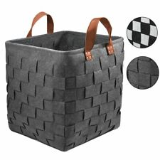 88L Laundry Hamper Collapsible Large Clothes Toys Storage Basket Bin with Handle
