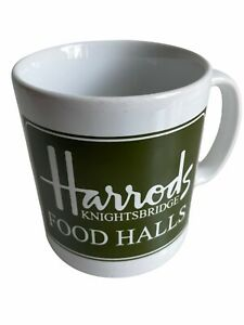 Collectible London HARRODS KNIGHTSBRIDGE Food Halls MUG Cup Souvenir ENGLAND