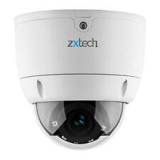 Zxtech Auto Varifocal Zoom Lens SD Slot PoE Motion Vandalproof 8MP CCTV Camera
