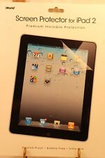 iWorld ipod Screen Protector Ipad 2 Scratch Proof Bubble Proof in package