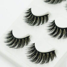 Handmade 100% Real Mink Luxurious Natural Thick Soft  Lashes False Eyelashes