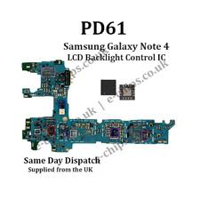 PD61-Samsung Galaxy Note 4 LCD Luz de Fondo control IC-DIM Fallas De Pantalla Oscura