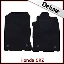 HONDA CR-Z 2010-2016 Tailored LUXURY 1300g Carpet Car Mats BLACK