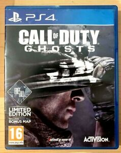 Call of Duty Ghosts - Playstation 4 - Good Condition - PS4