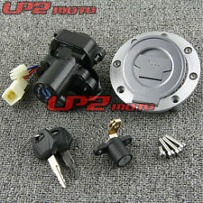 Motorcycle Ignition Switch Lock Key Gas Cap Set For Yamaha FZ09 MT09 FZ07 MT07
