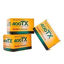 3x Kodak TRI-X 400 135-36 Tri X Analogfilm Scharz/Weiß Film B/W S/W